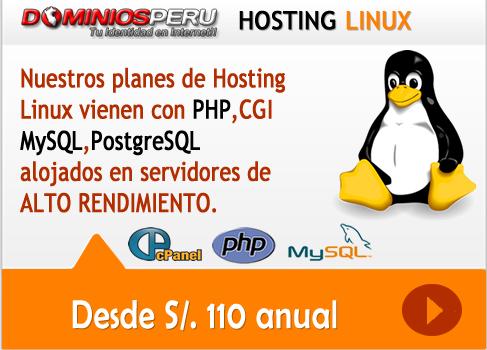 Hosting Linux Peru