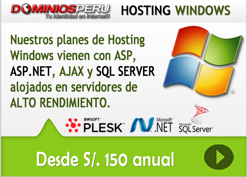 Hosting Windows Peru